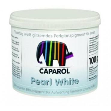 Пигмент для лисеровок Capadecor Pearl White (белый) 100гр