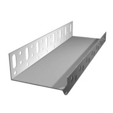 Профиль алюминиевый со слезником ЦОКОЛЬНЫЙ BAUMIT (Германия) 100мм
