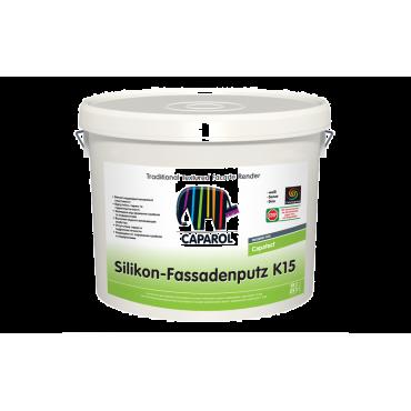 Финишная декоративная штукатурка Silikon-Fassadenputz Transparent K15
