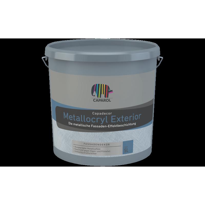 Фасадная краска Capadecor Metallacryl Exterior 5л
