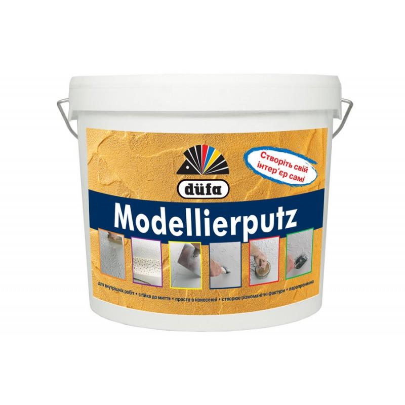 Штукатурка моделирующая Dufa Modellierputz 15 кг