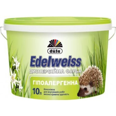 Краска гипоалергенная Dufa Edelweiss D601 10л