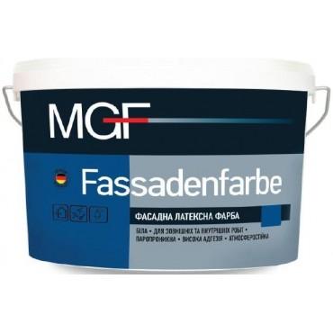 Краска фасадная латексная MGF Fassadenfarbe M90 14 кг