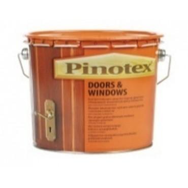 Деревозащитное средство PINOTEX DOORS & WINDOWS 10л.