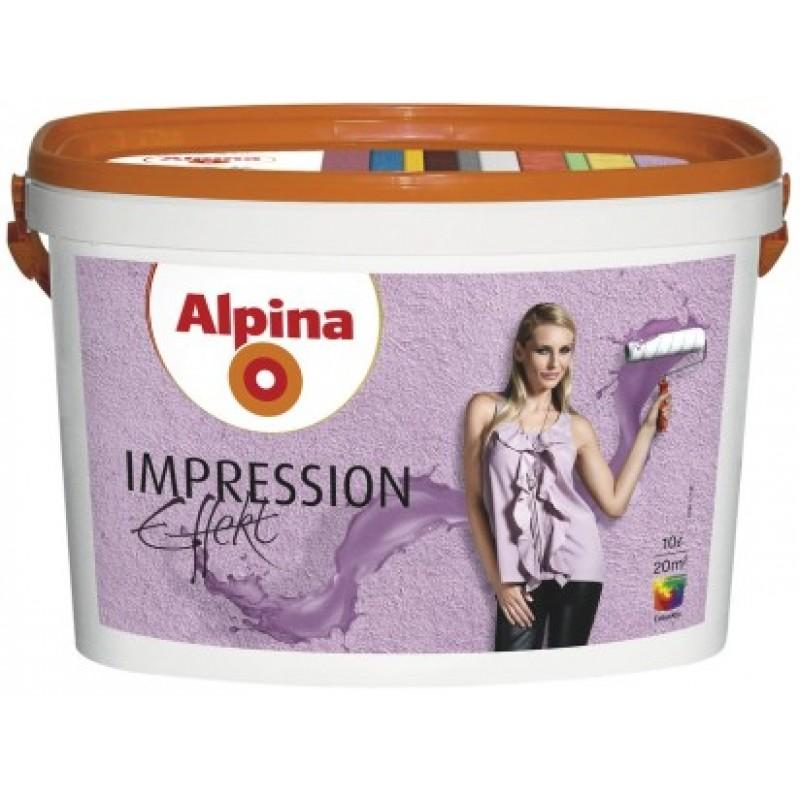 Интерьерая краска Alpina Effekt Impression CE 10л