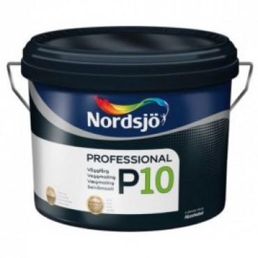 Краска акриловая для стен матовая Sadolin PRO P10 10л.