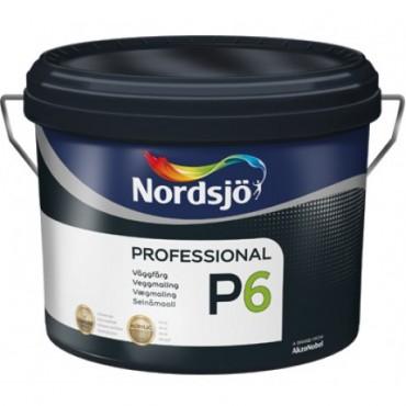 Краска акриловая для стен матовая Sadolin PRO P6 10 л