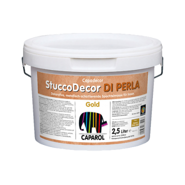 Шпатлевка дисперсионная Capadecor Stucco Di Perla Gold 1,25л