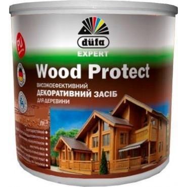 Высокоэффективное декоративное средство для дерева DE Wood Protect 0,75л