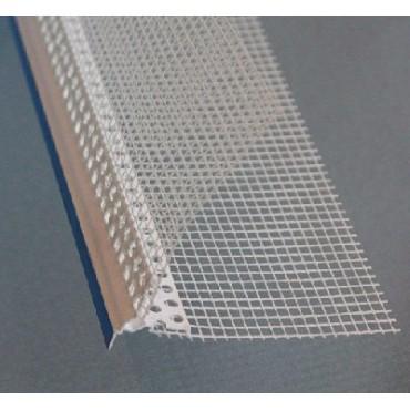 Профиль ПВХ КАПЕЛЬНИК с сеткой 100x150мм BAUMIT (Германия)