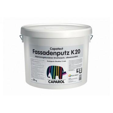 Финишная декоративная штукатурка Silikon-Fassadenputz Transparent K20